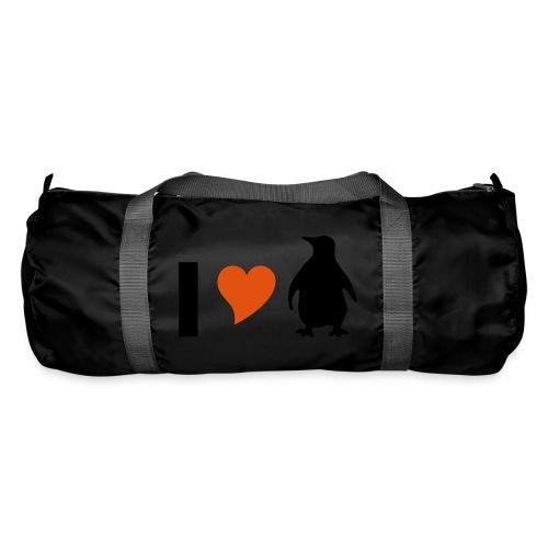 I love Pinguine - Sporttasche