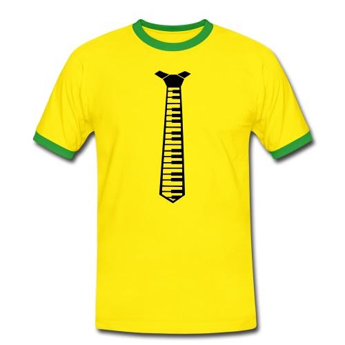 CORBATA-PIANO - Camiseta contraste hombre