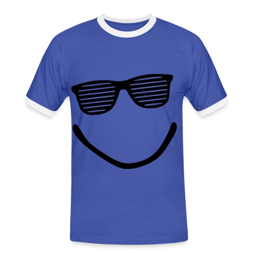 Smill Boob's - T-shirt contrasté Homme
