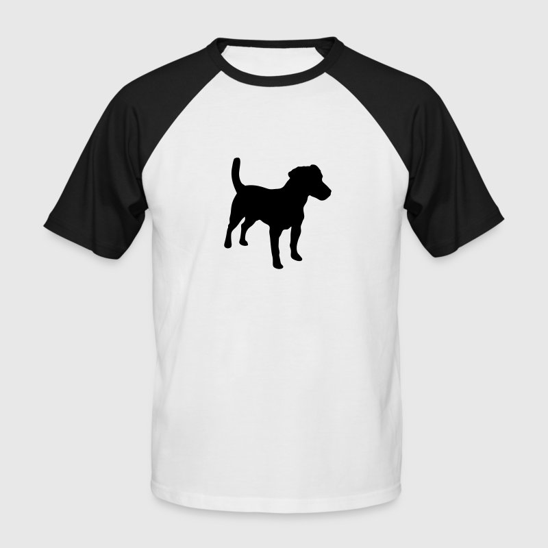 Jack Russell Terrier, Dog, Agility T-Shirts - Men's Baseball T-Shirt