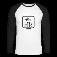 Long sleeve shirts ~ Men's Long Sleeve Baseball T-Shirt ~ BMX long sleeve t-shirt