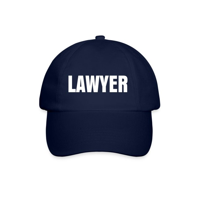 LAWYER Baseball Cap