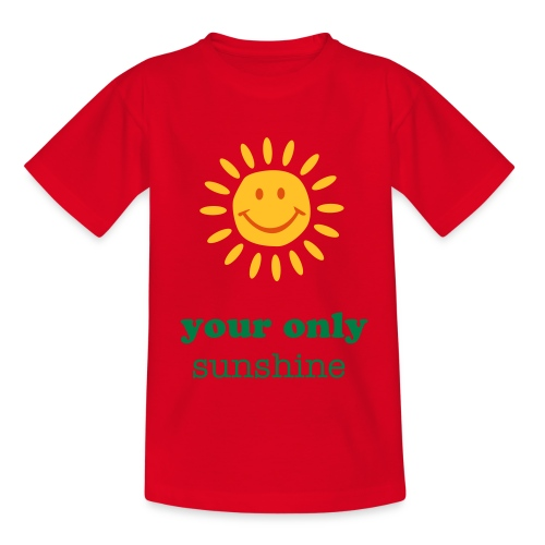 zon - Teenager T-shirt