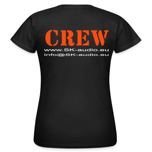 SK audio - CREW girlie - Frauen T-Shirt
