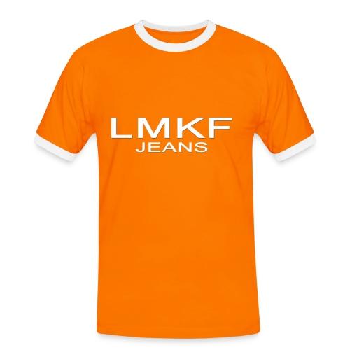 LMKF jeans - Maglietta Contrast da uomo