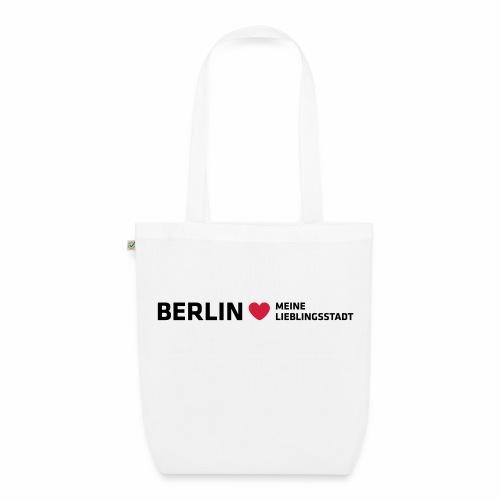 Berlin Meine Lieblingsstadt - Bio-Stoffbeutel