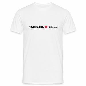 Hamburg Meine Lieblingsstadt - Männer T-Shirt