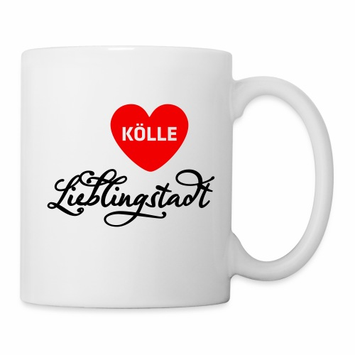 Kölle Meine Lieblingsstadt - Tasse