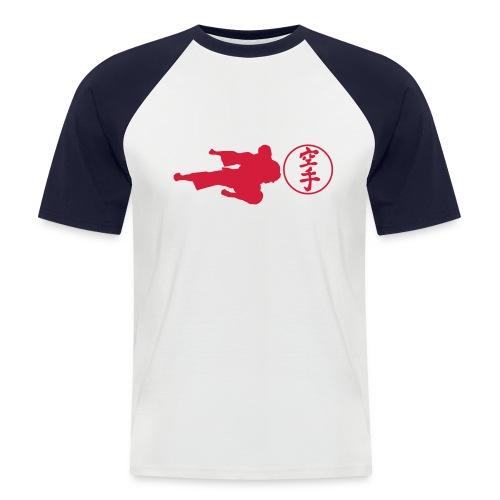 fighting style- karate - Koszulka bejsbolowa męska