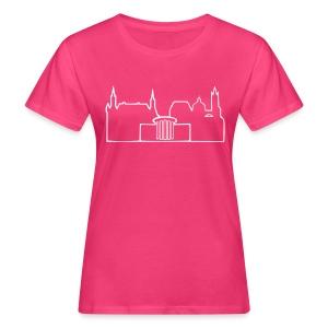 Aachen Skyline Shirt - Frauen Bio-T-Shirt
