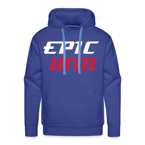 BEST OF BRITISH: Epic Win Hoodie Blue  - Men's Premium Hoodie