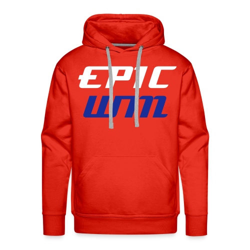 BEST OF BRITISH: Epic Win Hoodie Red - Men's Premium Hoodie