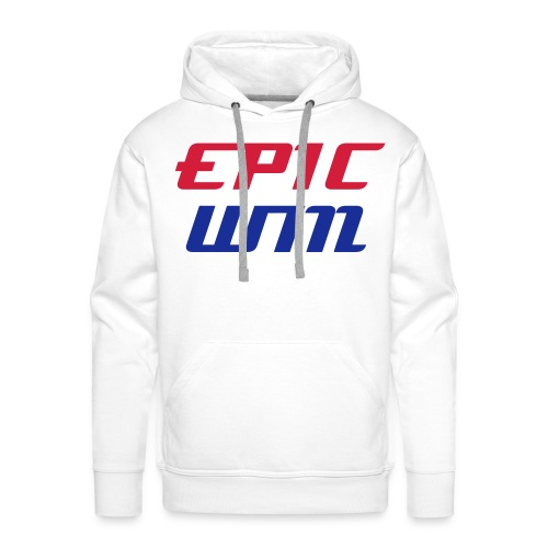 BEST OF BRITISH: Epic Win Hoodie White - Men's Premium Hoodie