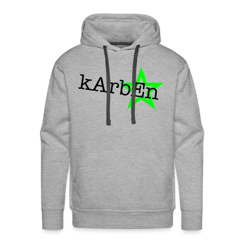 Men's Grey Karben Hoody - Men's Premium Hoodie
