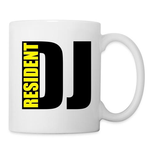Tasse weis Resident DJ - Tasse