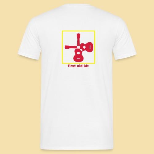 Menshirt: first aid kit (Motiv rot/gelb) - Männer T-Shirt