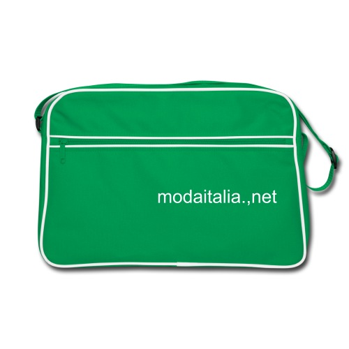 Brown Bag with modaitalia.net logo - Borsa retrò