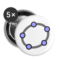 Buttons ~ Buttons small 25 mm ~ GeoGebra Buttons x5 (small)