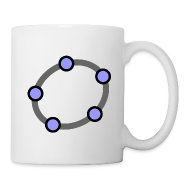 Mugs & Drinkware ~ Mug ~ GeoGebra Buttons x5 (small)