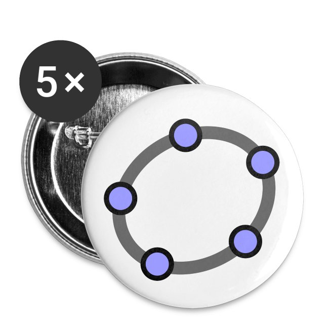 GeoGebra Buttons x5 (medium)