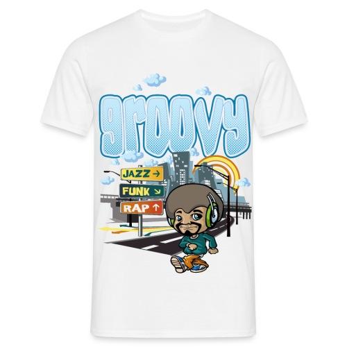 T-Shirt groovy - T-shirt Homme