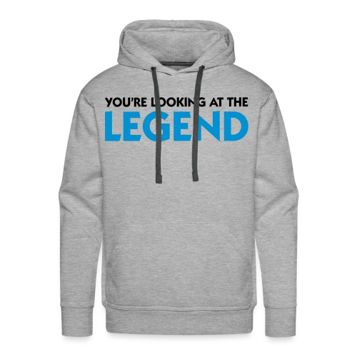 Sweat Legend - Sweat-shirt à capuche Premium pour hommes