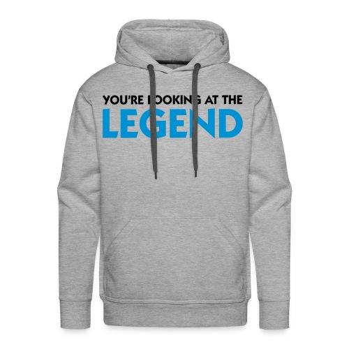 Sweat Legend - Sweat-shirt à capuche Premium pour hommes