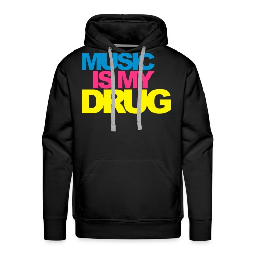 Sweat music - Sweat-shirt à capuche Premium pour hommes