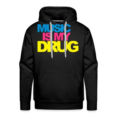 Sweat music - Sweat-shirt à capuche Premium pour hommes