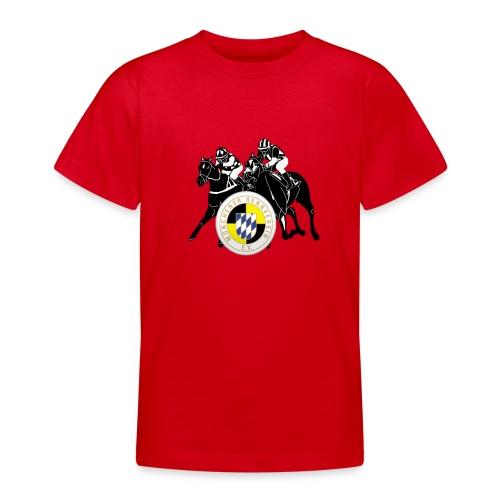 Kindershirt galopp/MRV Logo auf Br - Teenager T-Shirt