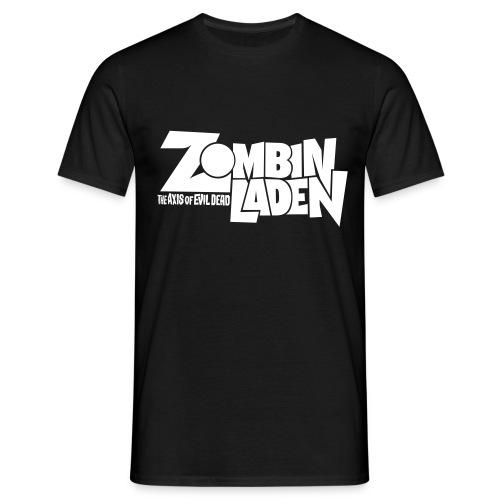 ZOMBINLADEN White LOGO MEN TSHIRT - T-shirt Homme