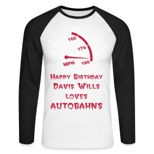 Autobahns - Men's Long Sleeve Baseball T-Shirt