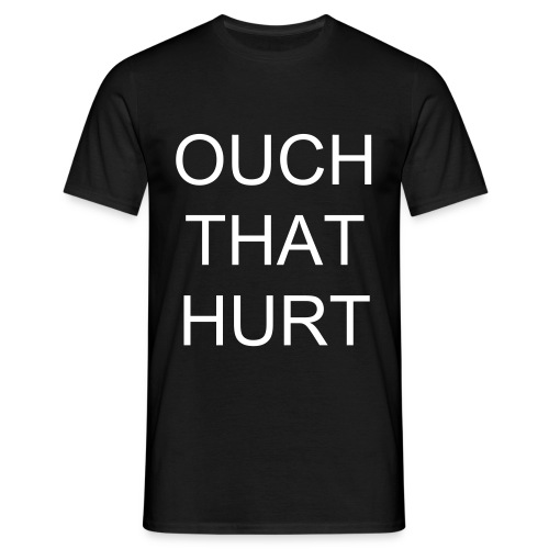 Dionne Bromfield - Ouch That Hurt - Men's T-Shirt