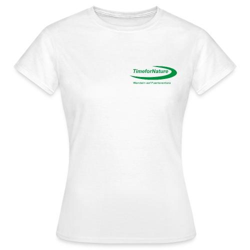 TimeforNature-Shirt für Damen mit Logo  - Frauen T-Shirt