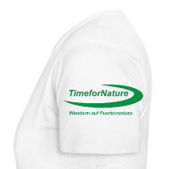 T-Shirts ~ Frauen T-Shirt ~ TimeforNature-Shirt für Damen mit Logo linker Ärmel