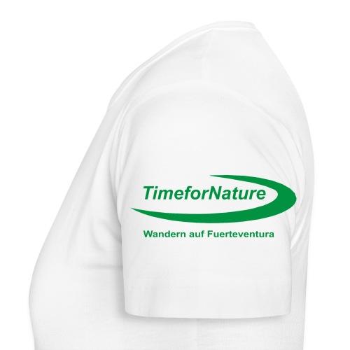 TimeforNature-Shirt für Damen mit Logo linker Ärmel - Frauen T-Shirt