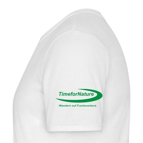 Herren-Shirt mit TimeforNature-Logo auf Ärmel links - Männer T-Shirt