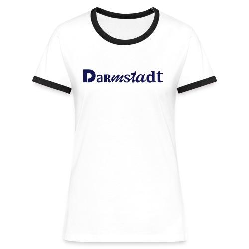 Darmstadt - Frauen Kontrast-T-Shirt