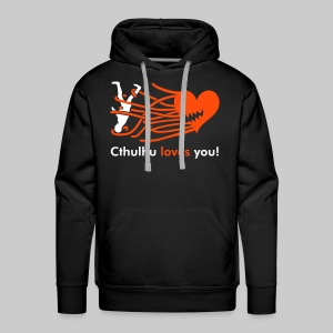 MPK: Cthulhu loves you! - Men's Premium Hoodie