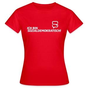 Basic Dasistsozi-Shirt für die Damen. - Frauen T-Shirt