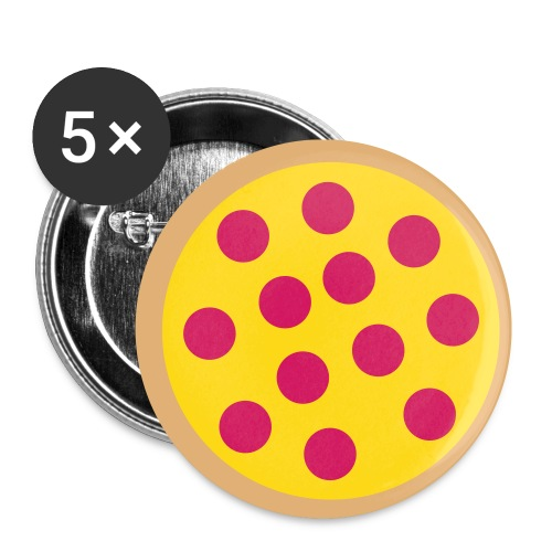 Pizza Stand Lucania - Buttons klein 25 mm (5er Pack)