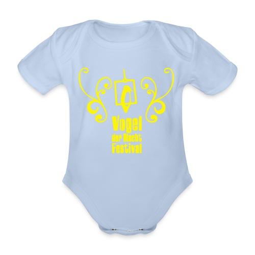 Vogel der Nacht Baby Body Vogel - Baby Bio-Kurzarm-Body