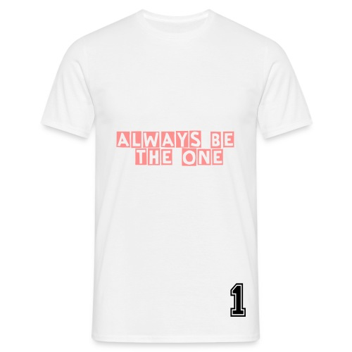Be the one - T-shirt Homme
