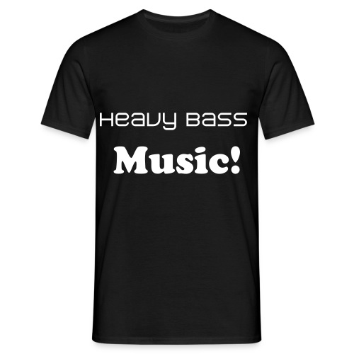 Heavy bass - Men's T-Shirt