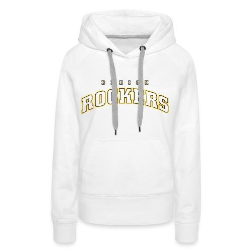Bleichrockers Damen Kapuzenpulli - Frauen Premium Hoodie