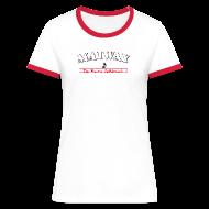 T-Shirts ~ Frauen Kontrast-T-Shirt ~