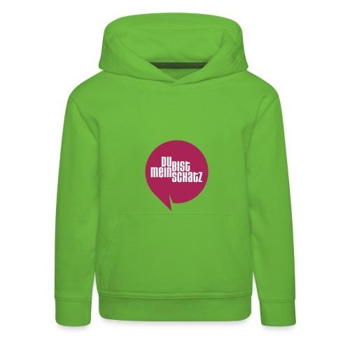 Mein Schatz-Pulli Kind • Magenta - Kinder Premium Hoodie
