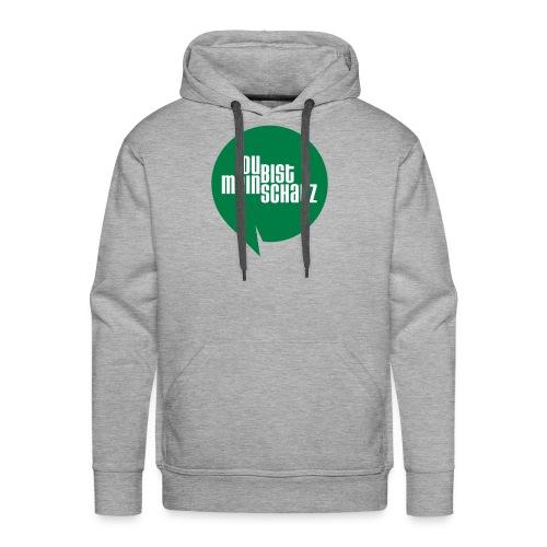 Mein Schatz-Pulli Mann • Grün - Männer Premium Hoodie