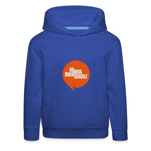Mein Schatz-Pulli Kind • Orange - Kinder Premium Hoodie
