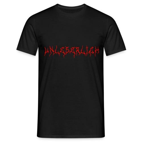 Unleserlich T-Shirt - Männer T-Shirt